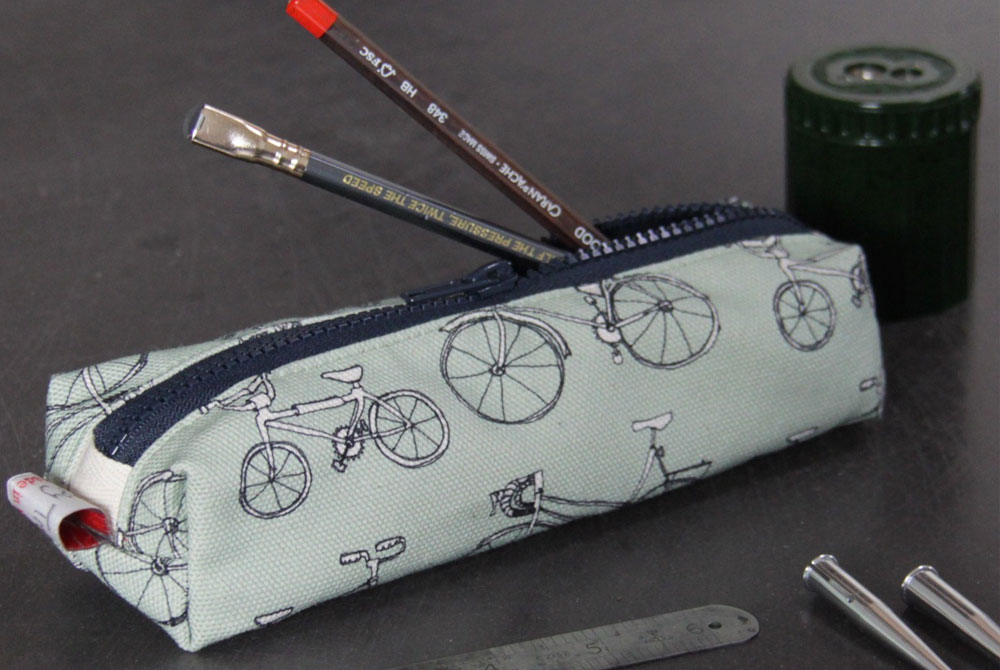 Poppy Treffry Bicycle Pencil Case