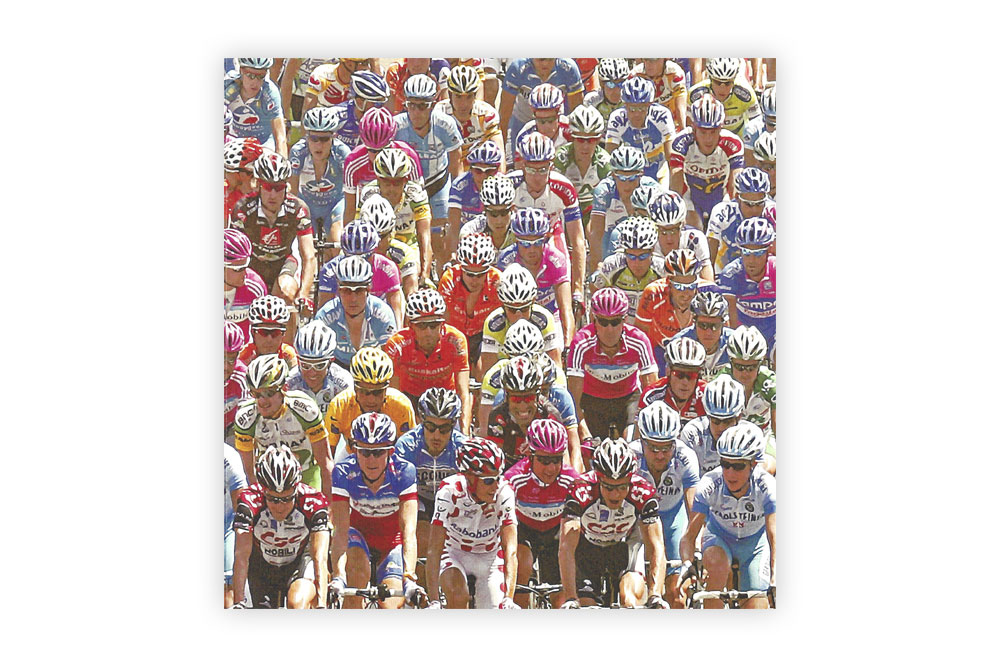 Only 183km to go Bicycle Greeting Card