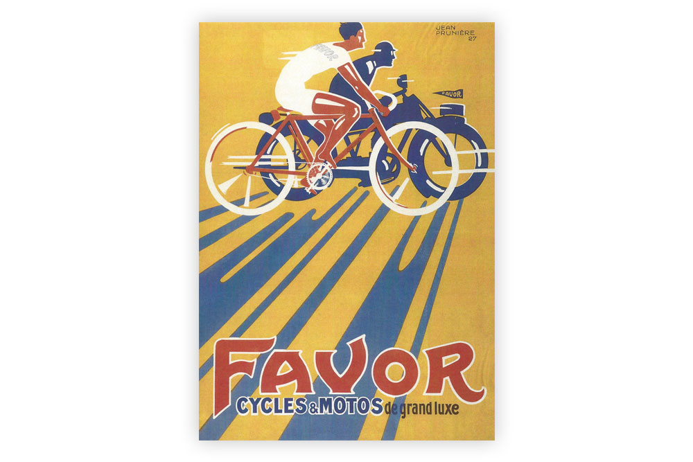 Favor Cycles Bicycle Greeting Card