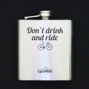 Bicycle Hip Flask - Don't Drink and Ride