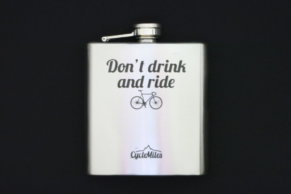 Bicycle Hip Flask – Don't Drink and Ride