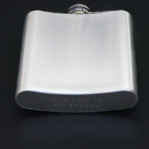 Bicycle Hip Flask – More Smiles per Hour – Ladies Bicycle