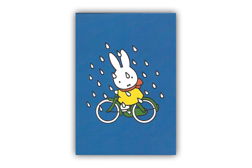 Miffy on a Bicycle Magnetic Notepad