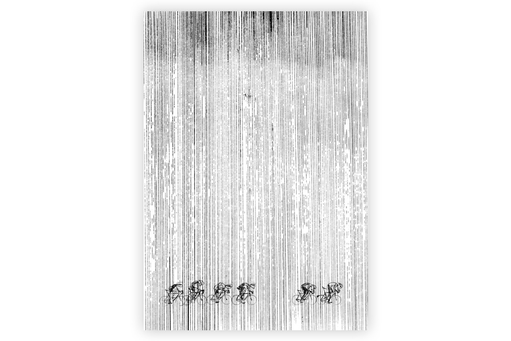 Elements 01 Cycling Print – Simon Spilsbury