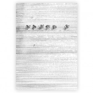 Elements 02 Cycling Print - Simon Spilsbury