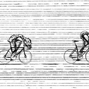 Elements 02 Cycling Print – Simon Spilsbury