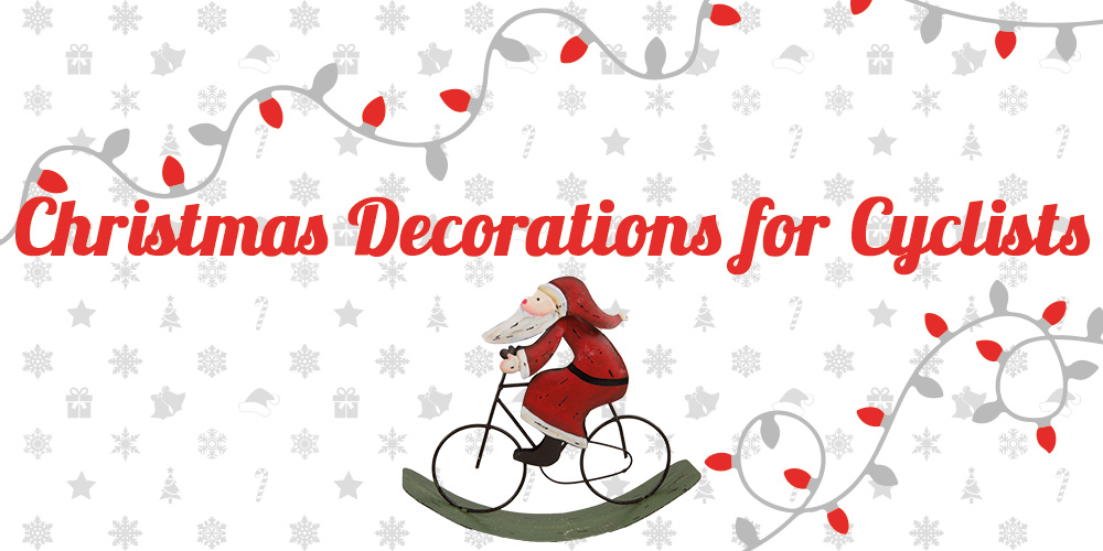 Christmas Bicycle Decorations