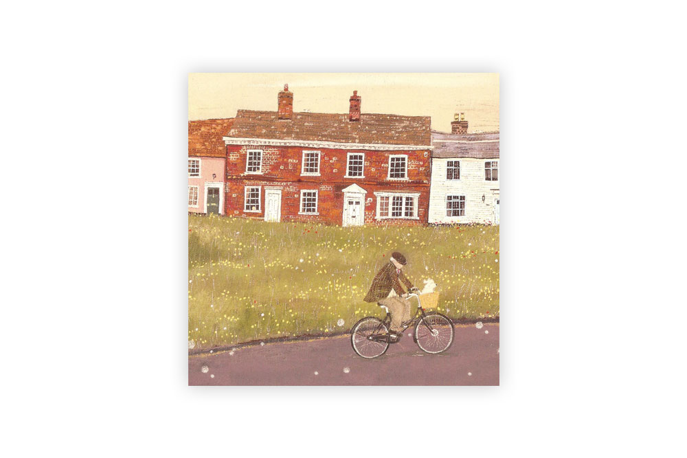 Bike Ride Bicycle Greeting Card