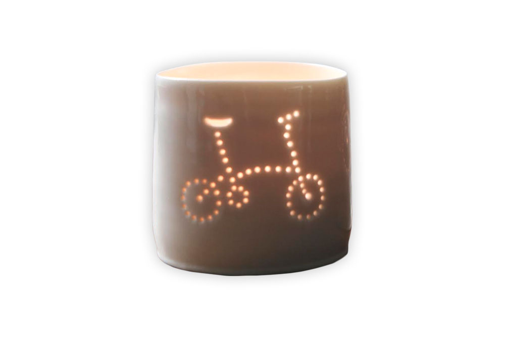 Luna Mini Bicycle Brompton Tealight