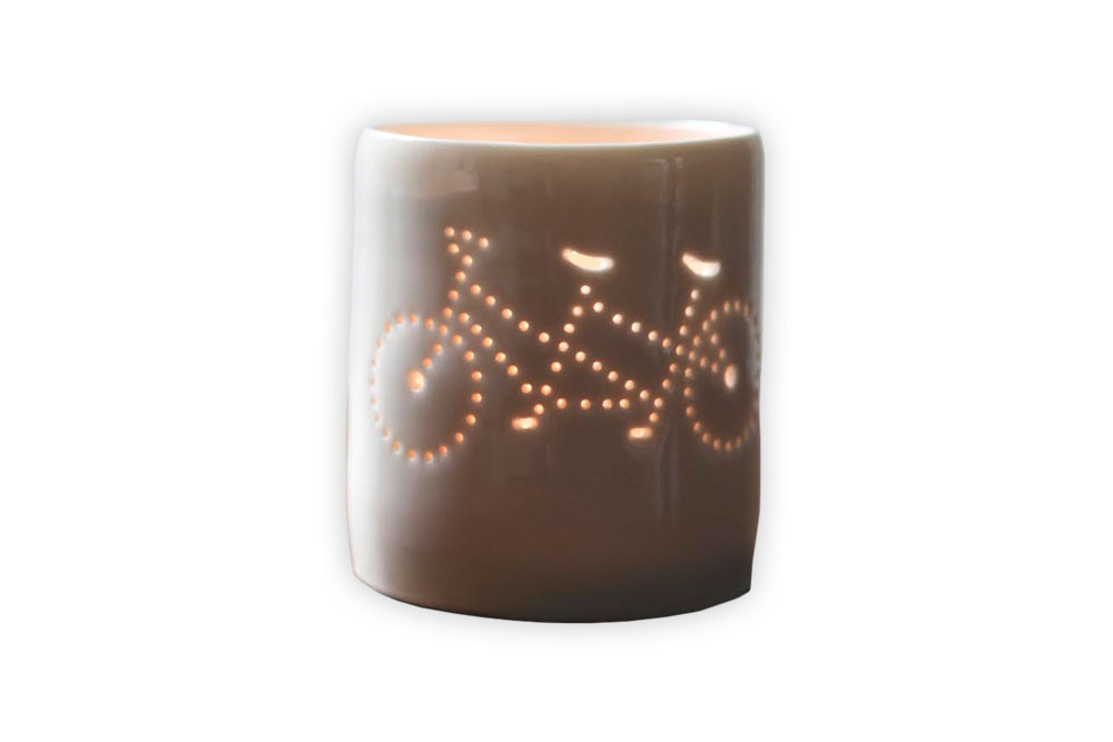 Luna Mini Bicycle Tandem Tealight