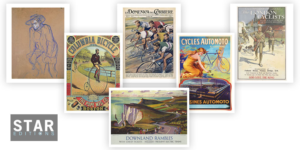 Vintage Cycling Prints