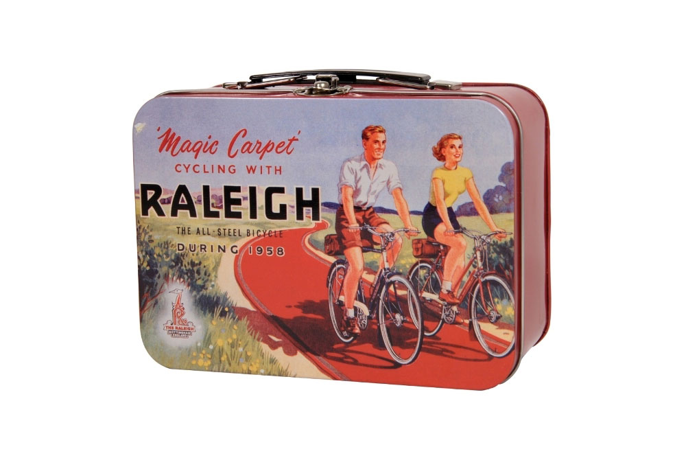 Raleigh Bicycle Tin Lunch Box