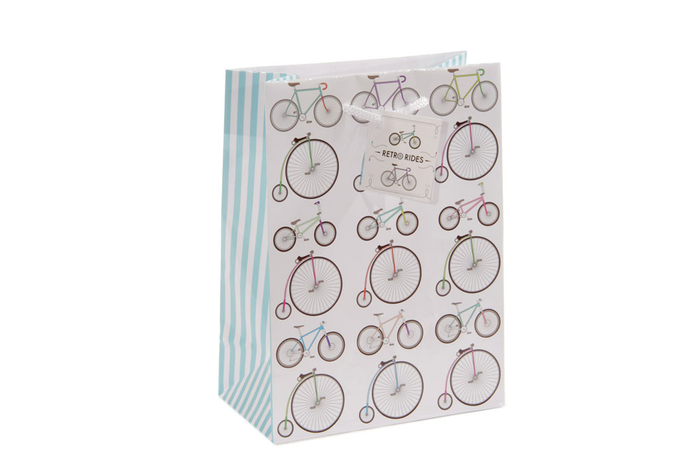 Medium Bicycle Gift Bag