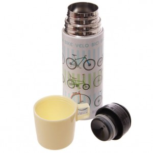Retro Rides Stainless Steel Bicycle Flask
