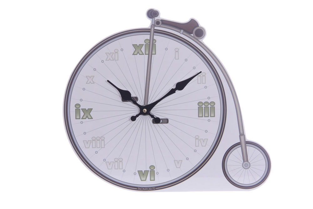 Penny Farthing Bicycle Wall Clock