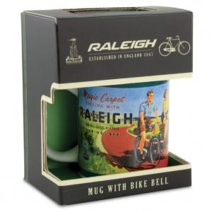 Raleigh Bicycle Mug with Bicycle Bell
