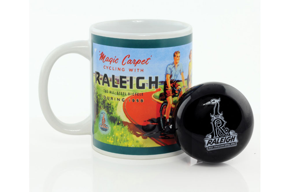 Raleigh Bicycle Mug with Bicycle Bell
