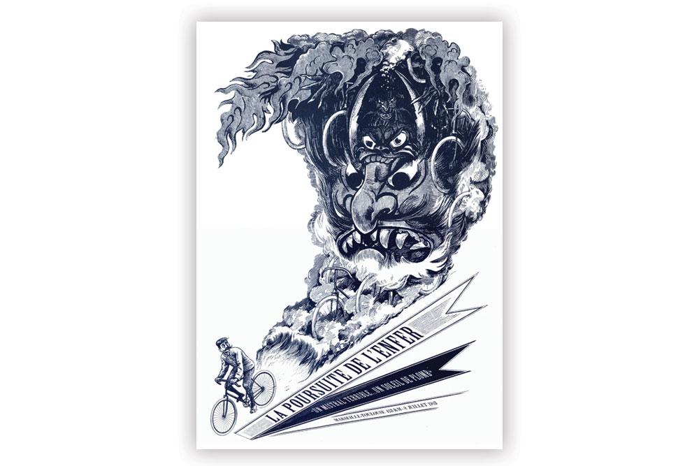 La Poursuite Screen Print by Otto von Beach