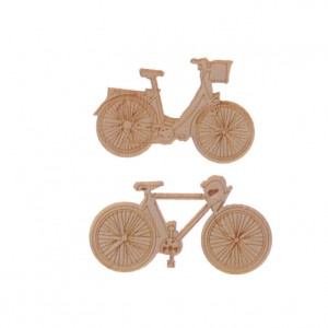 Wooden Bicycle Craft Shapes