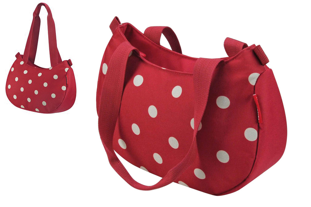 Rixen Kaul Reisenthel Style Bag in Red Polka Dot