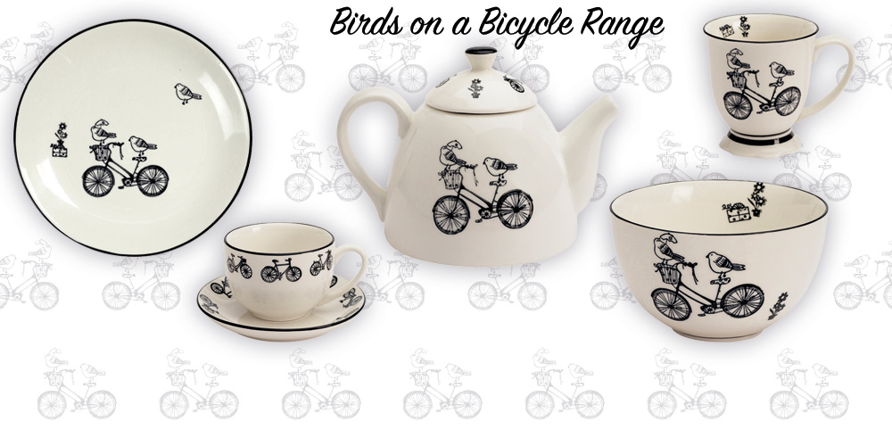 Birds on a Bicycle Range - So sweet