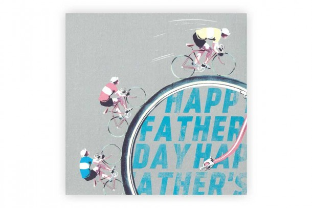 Happy Father S Day Bicycle Greeting Card Cyclemiles