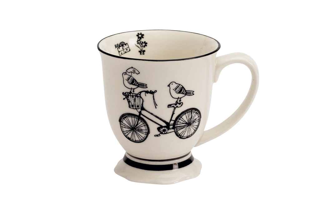 Birds on a Bicycle Mug