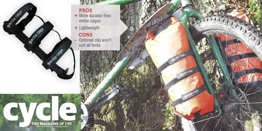 CTC Cycling Magazine - gorilla cage Review