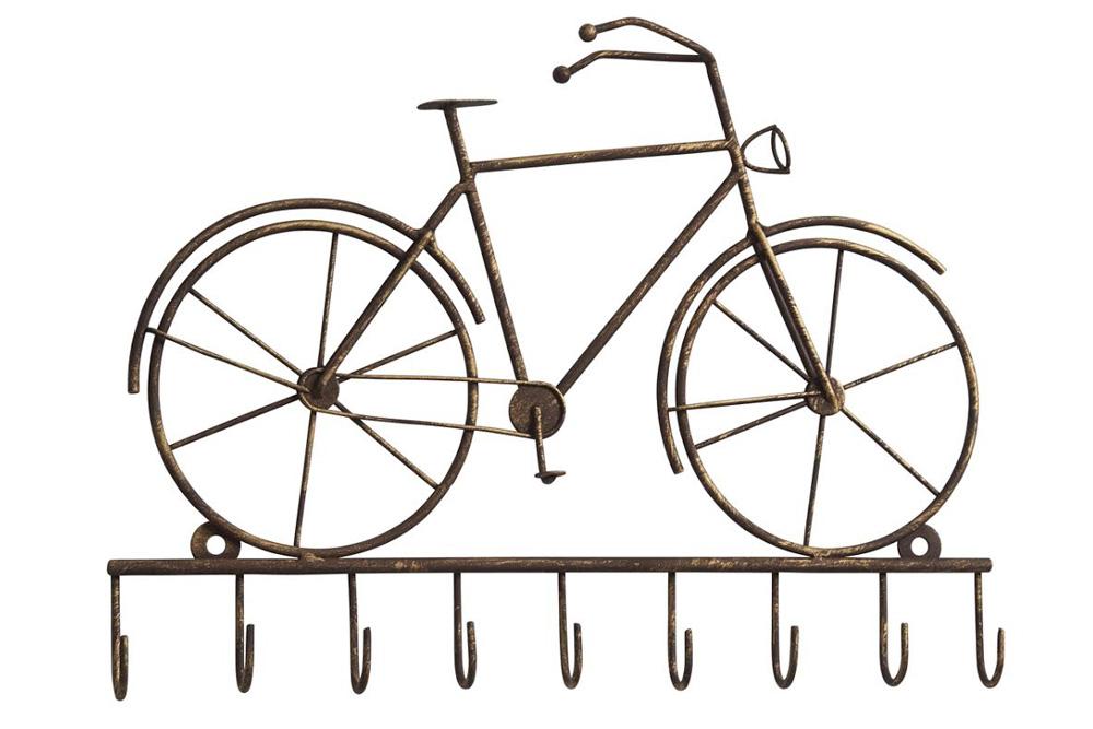 Vintage Bicycle Key Rack
