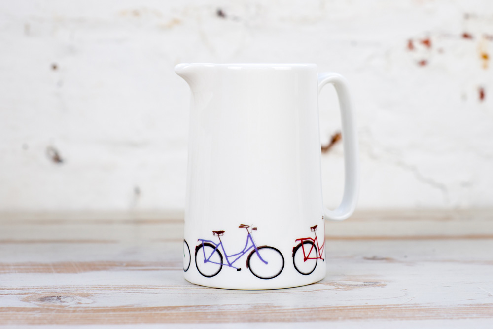 Yellowstone Bicycle Milk Jug