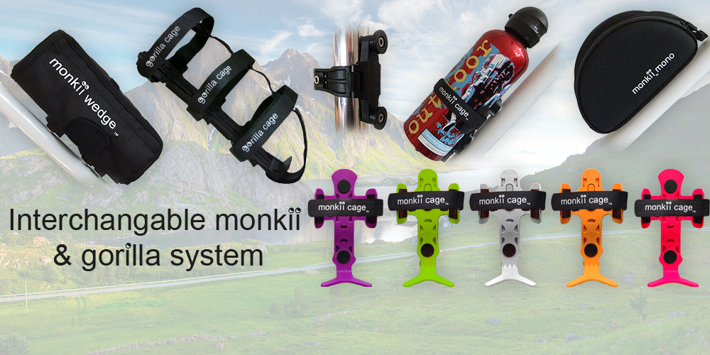 Interchangeable monkii & gorilla system