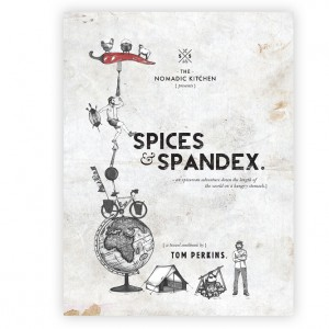 Spices and Spandex Travel Cookbook - Tom Perkins