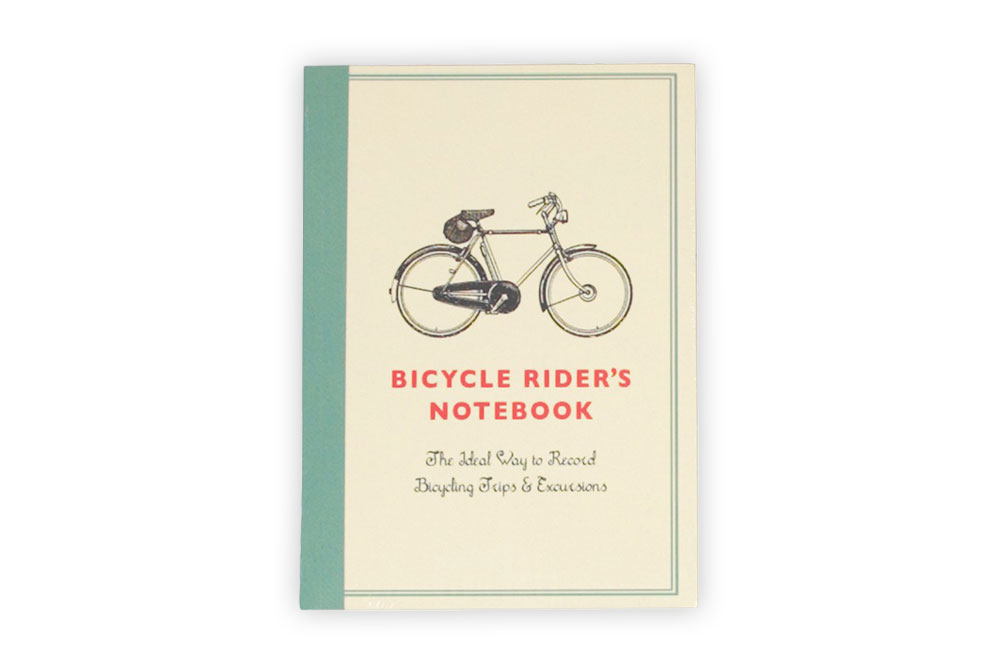 A6 Bicycle Rider's Notebook