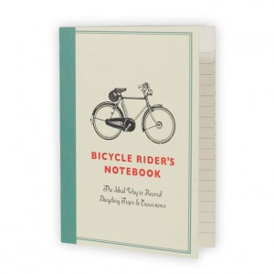 A5 Bicycle Rider's Notebook