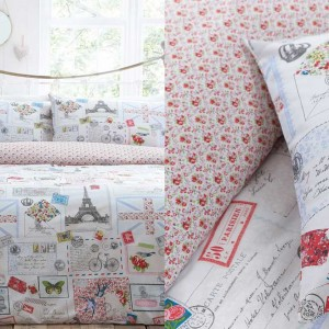 Paris Bicycle Duvet Set