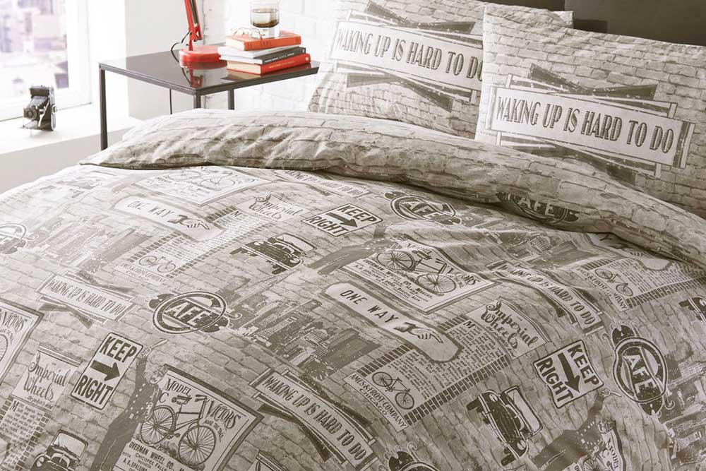 Lilly Amp Co Vintage Bicycle Duvet Set Cyclemiles