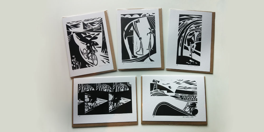 Andrew Pavitt Cycling Cards