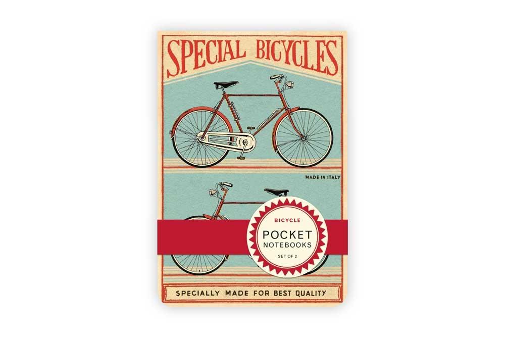 Vintage Pocket Bicycle Notebooks