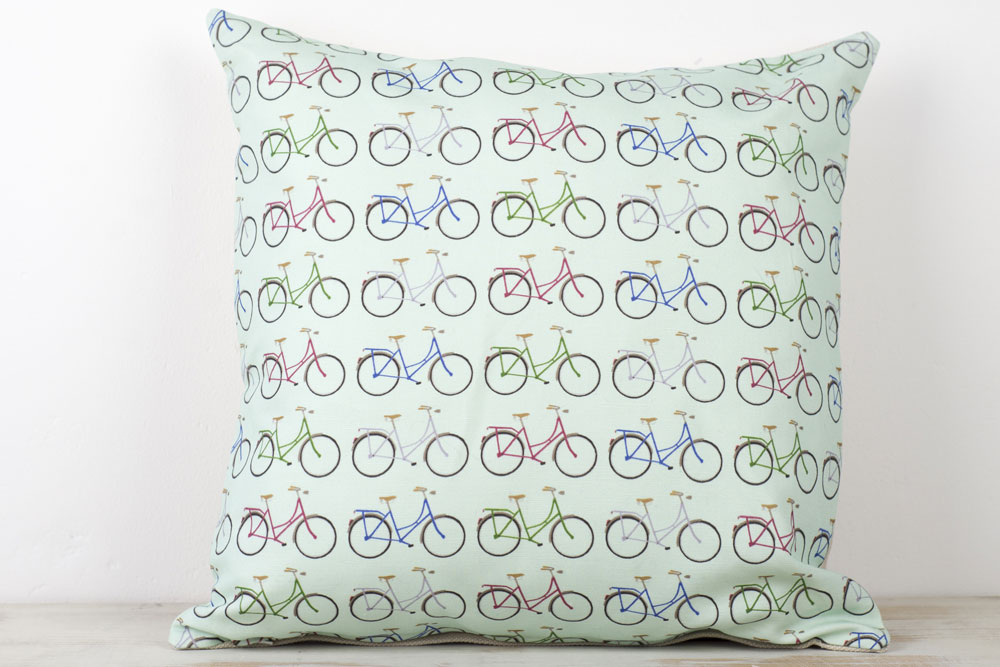 Yellowstone Mint Bicycle Cushion