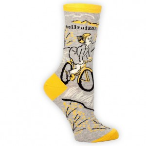 Blue Q Hellraiser Bicycle Socks
