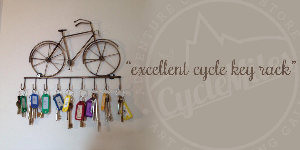 Richard's Bicycle Key Rack
