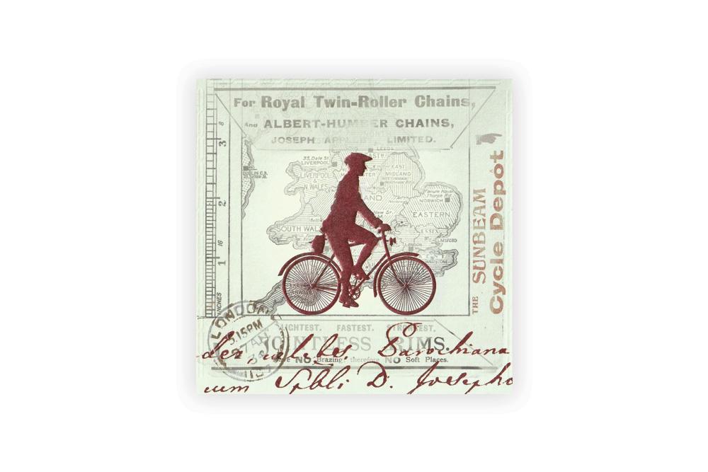 Sunbeam Bicycle Greeting Card