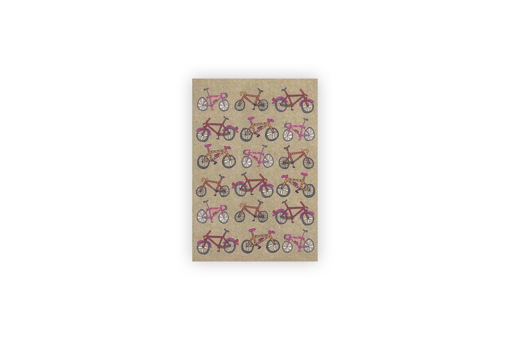 Pocket Typewriter Set of 5 Bicycle Note Cards