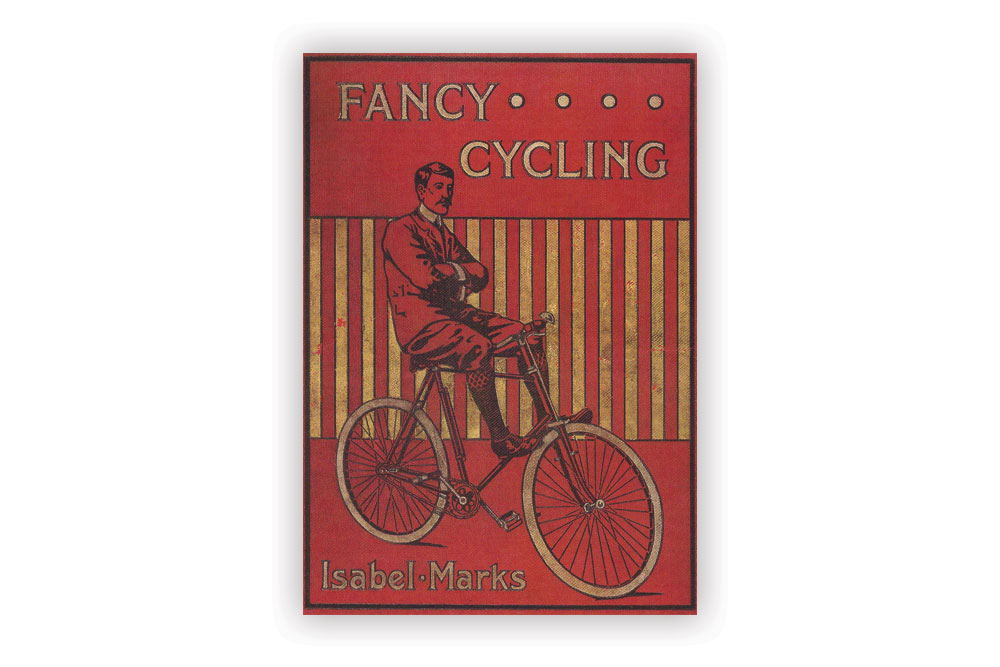Fancy Cycling Greeting Card