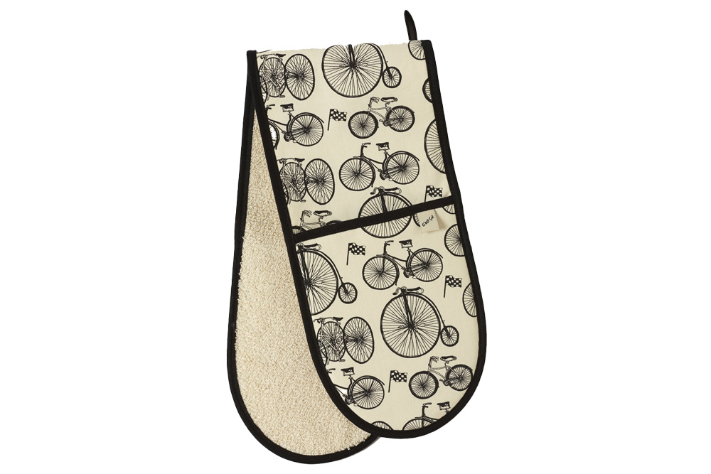 Belle Textiles Le Tour Bicycle Double Oven Glove