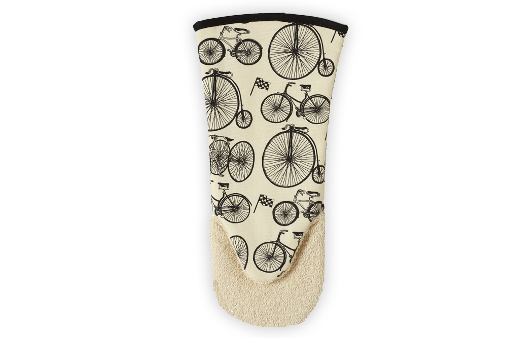 Belle Textiles Le Tour Bicycle Oven Glove