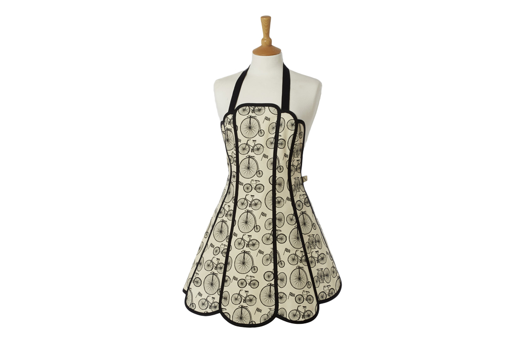 Belle Textiles Panelled Le Tour Bicycle Apron