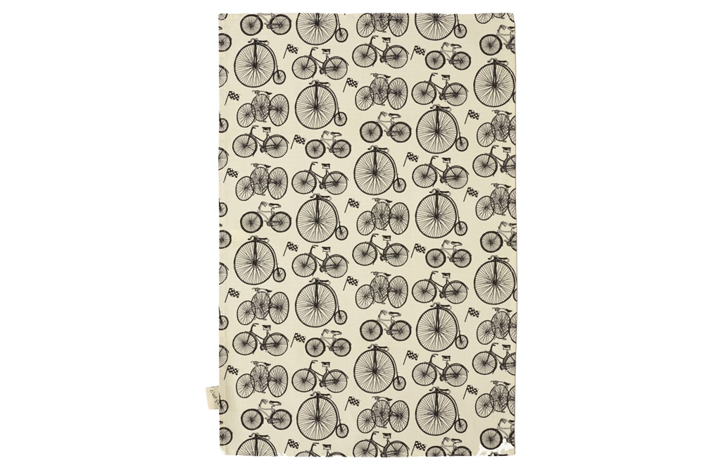 Belle Textiles Le Tour Bicycle Tea Towel