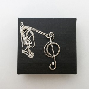 Respoke Bicycle Jewellery Music Necklace
