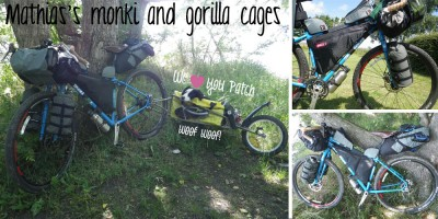 Mathias's monki and gorilla cages